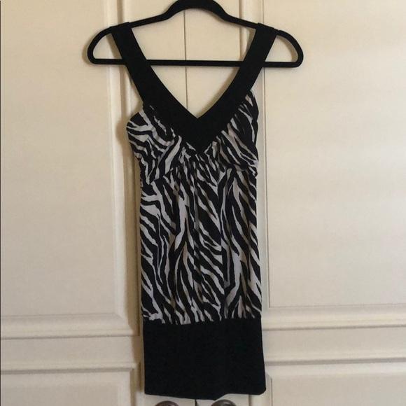 candy rain Dresses & Skirts - Sexy zebra mini dress